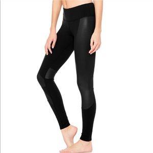 ALO Yoga Black Accelerate Leggings Tights